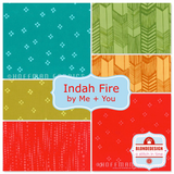 Fire & air tones by Me+You for Hoffman Fabrics x 12