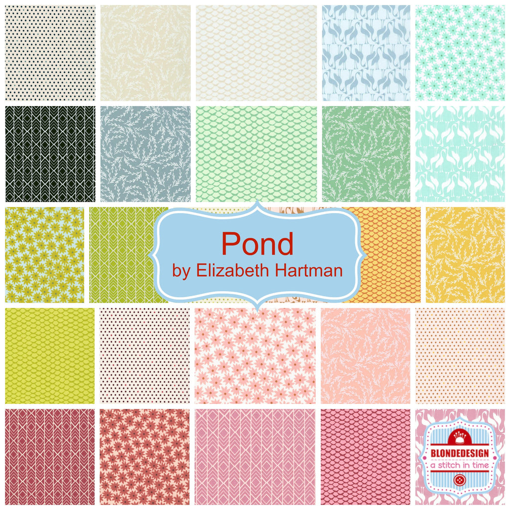 Pond by Elizabeth Hartman for Robert Kaufman x 26