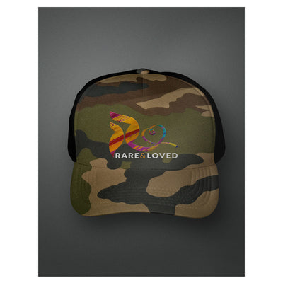 Rare and Loved Camo Cap