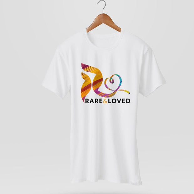 Rare and Loved White T-shirt