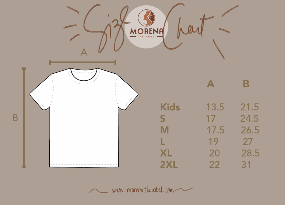 Morena the Label Size Chart / Sizing