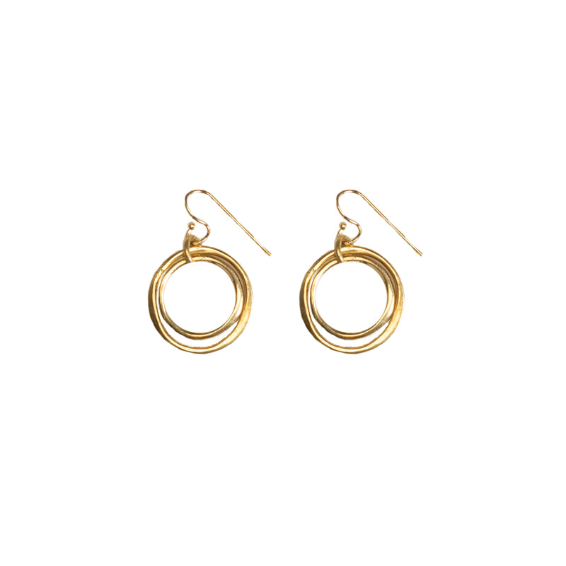 Organic Circles Earrings