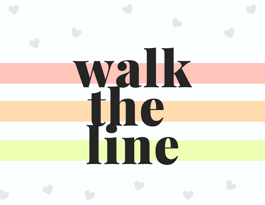 Walk the Line Gift Set