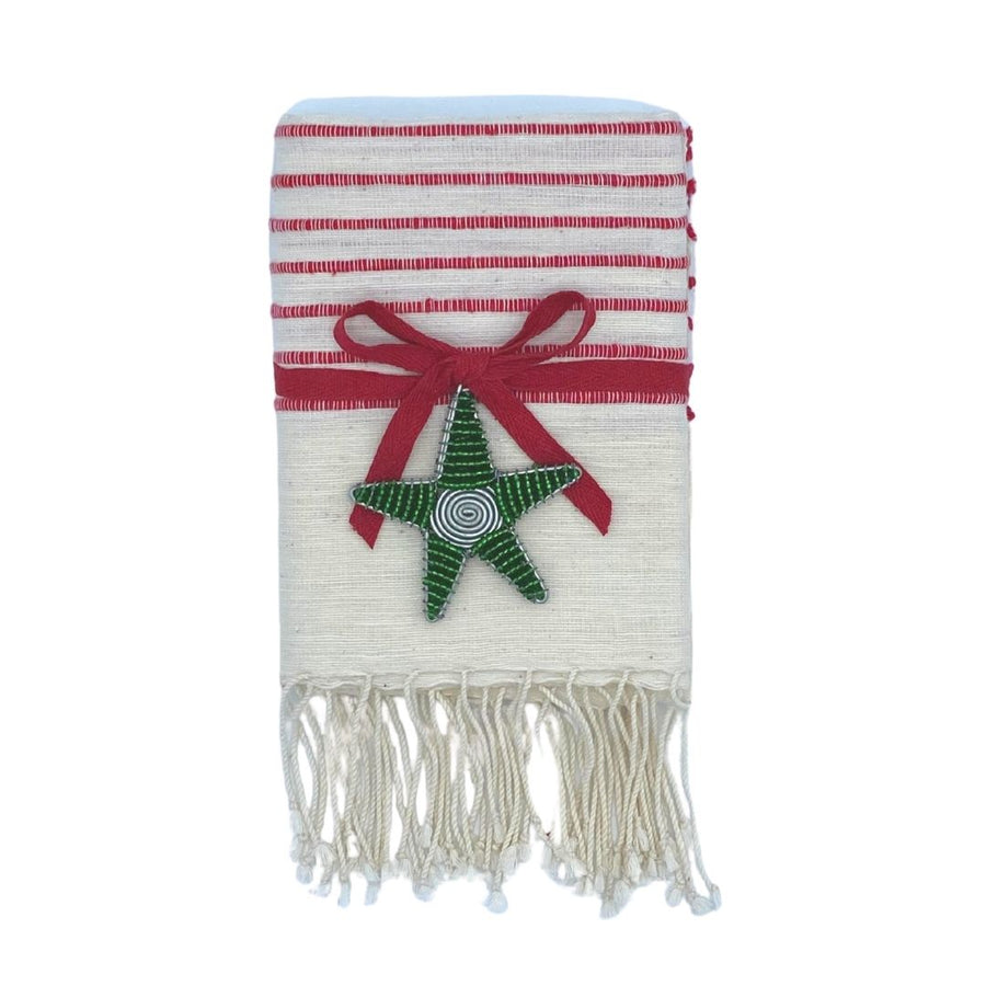Line by Line Hand Towel with Star Set