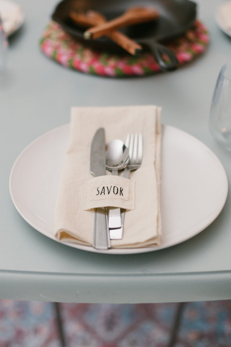 Pocket Napkins Set of 4