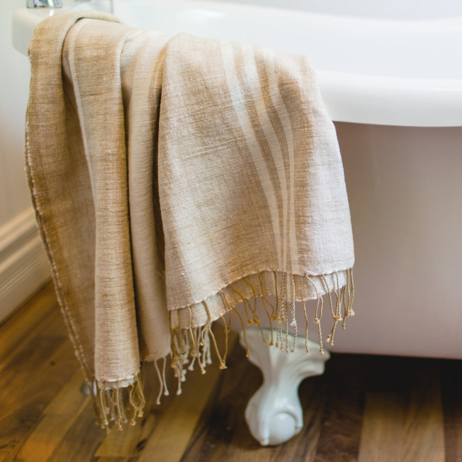 Savannah Bath Towel Aqua