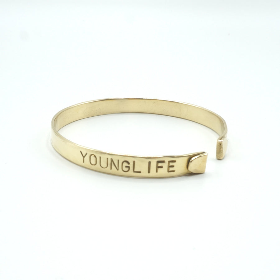 Young Life Hammered Cuff