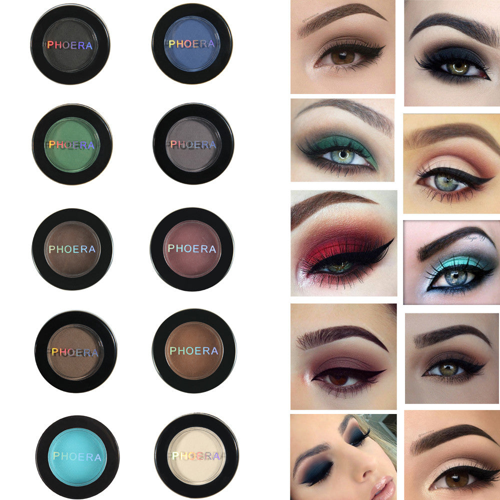 12 Colors Long Lasting Matte Eye Shadow