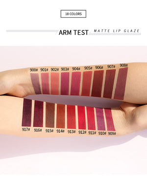 18 Colors Mini Capsule Matte Lip Glaze