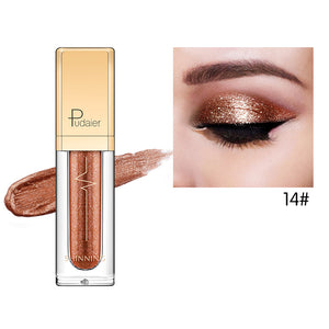 18 Colors Dimond Glitter Liquid Eyeshadow Eyeliner
