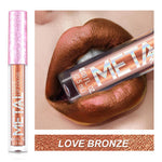 Long-lasting Shimmer Metallic Lip Gloss
