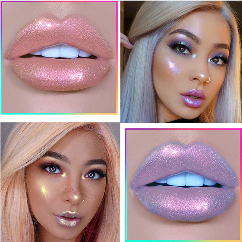Glitter Mermaid Holographic Lip Gloss