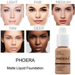 【Last 1 Day Promotion-Buy 1 Get 1 Free】Flawless Soft Matte Liquid Foundation
