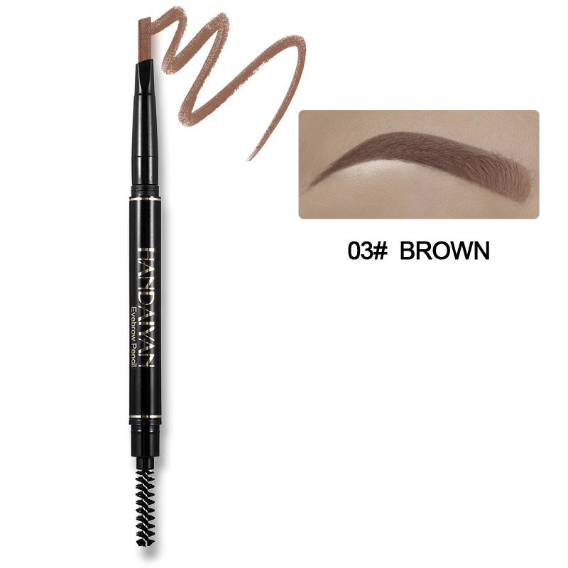 Waterproof Long Lasting Rotatable Eyebrow Pencil