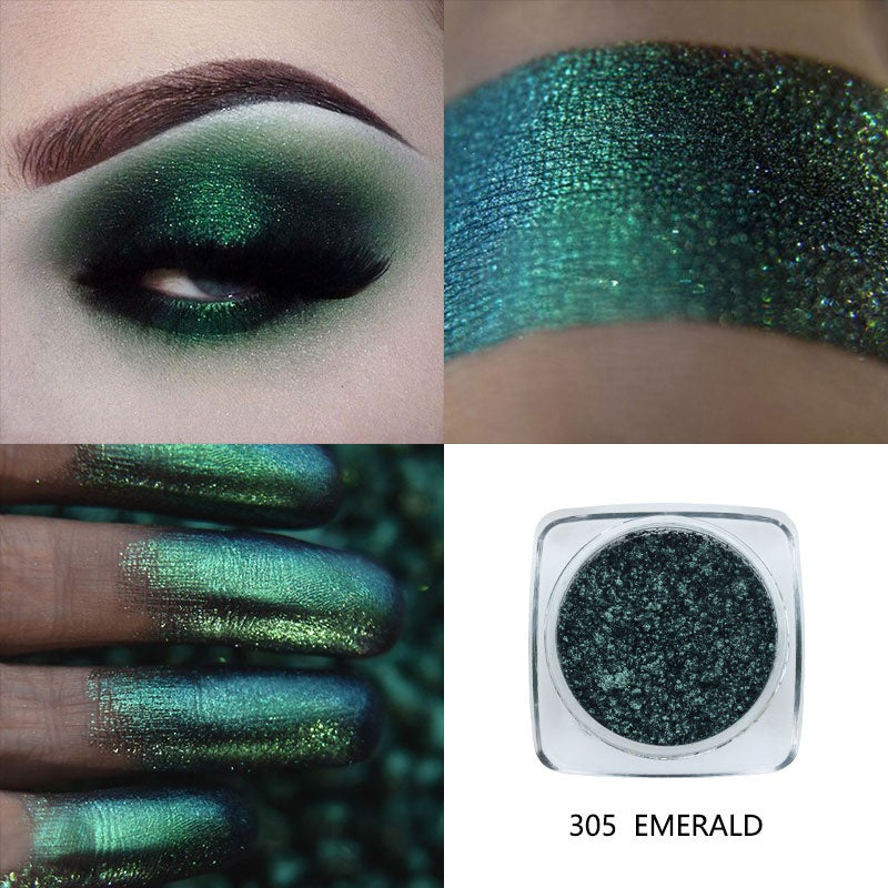 Waterproof Shiny Metallic Eyeshadow Powder