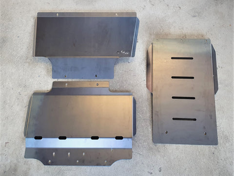 Nissan Navara D40 Spanish build Bash Plates