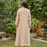 Load image into Gallery viewer, Almond Scarlet Embroidered Kurta Set