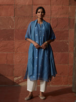 Load image into Gallery viewer, Azure Tie and Dye Kurta
