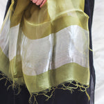 Load image into Gallery viewer, Leaf Green Organza Dupatta