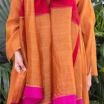 Load image into Gallery viewer, Scarlet Colour Blocked Dupatta