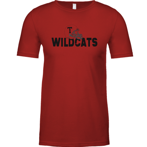 Temple Football Helmet Tee