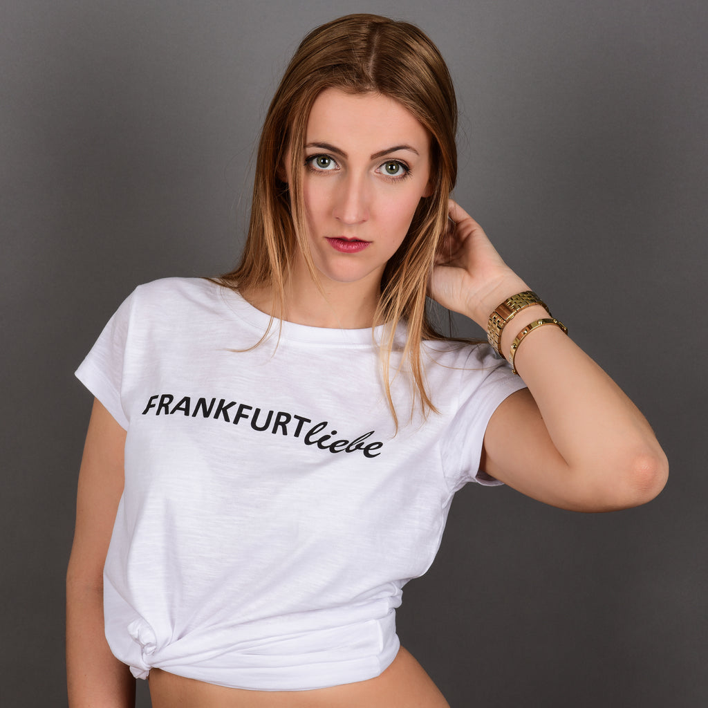 Frankfurtliebe T-Shirt Woman Basic white