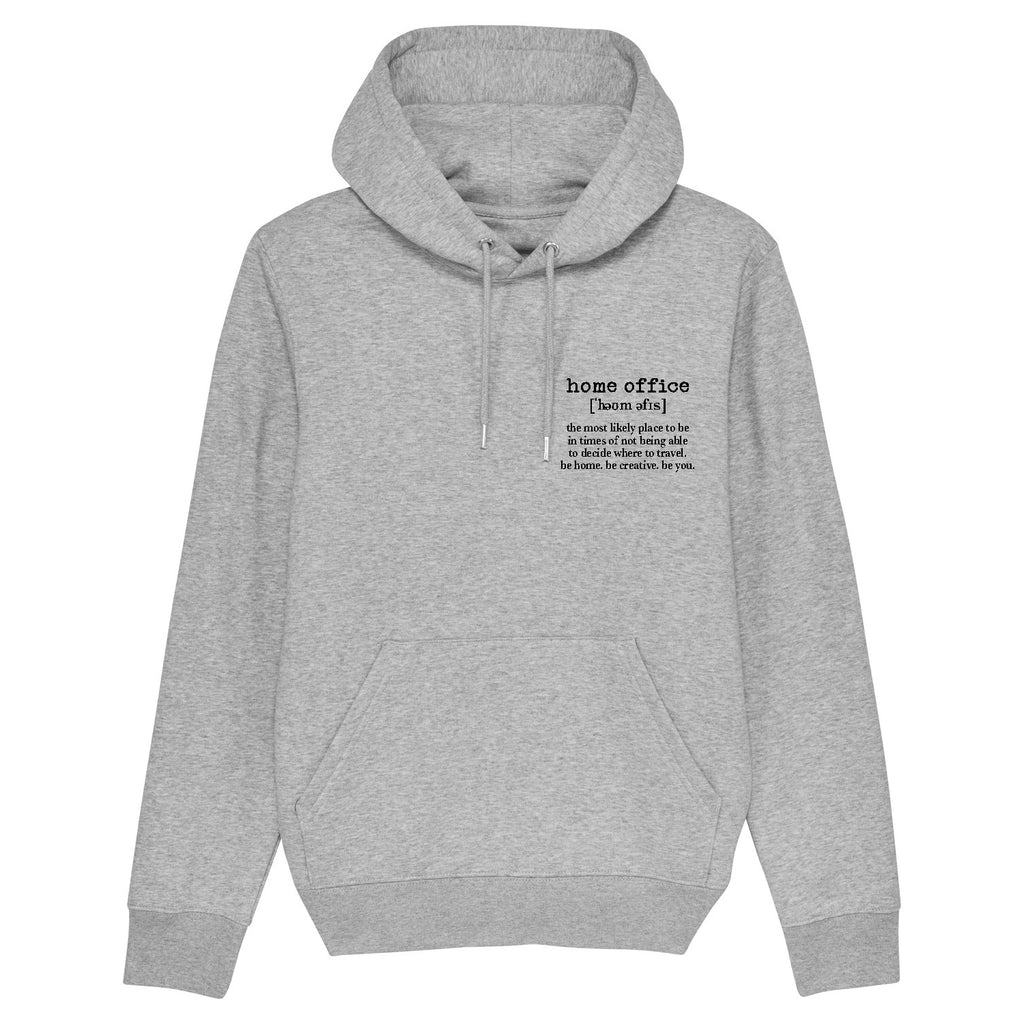 Unisex Hoody grey Home Office