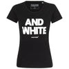 Frankfurtliebe T-Shirt Woman BLACK & WHITE black