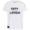 Frankfurtliebe T-Shirt Man CITY LOVER white - Limited Edition