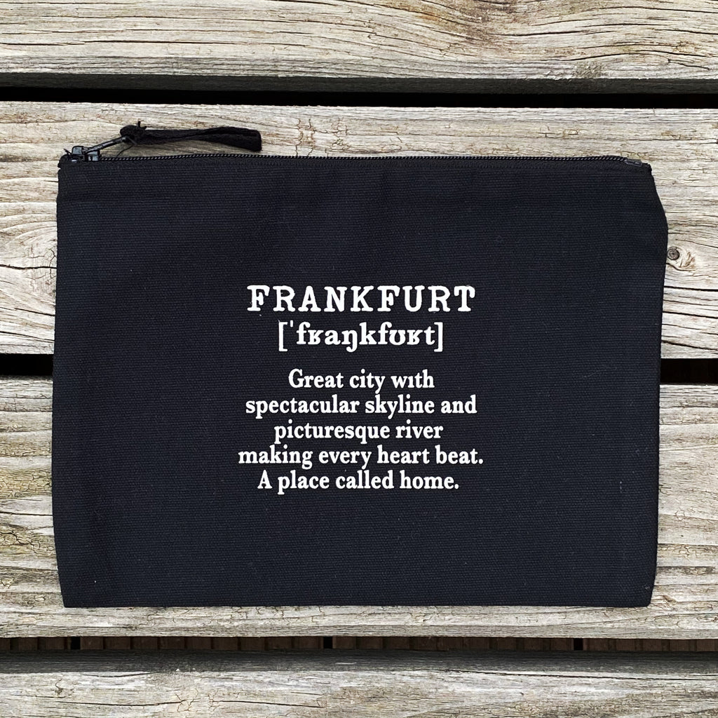 Frankfurtliebe Private Case Frankfurt black