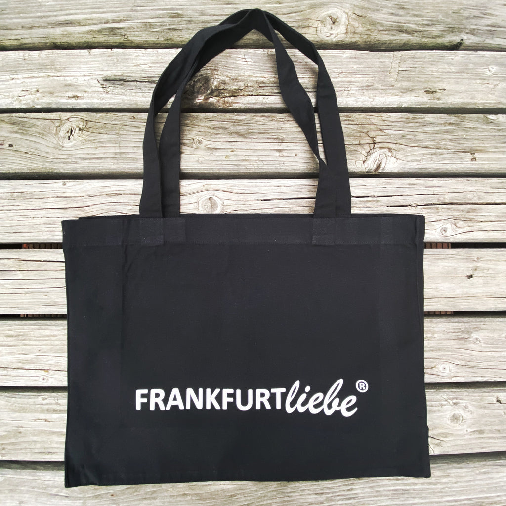 Frankfurtliebe Shopping bag black