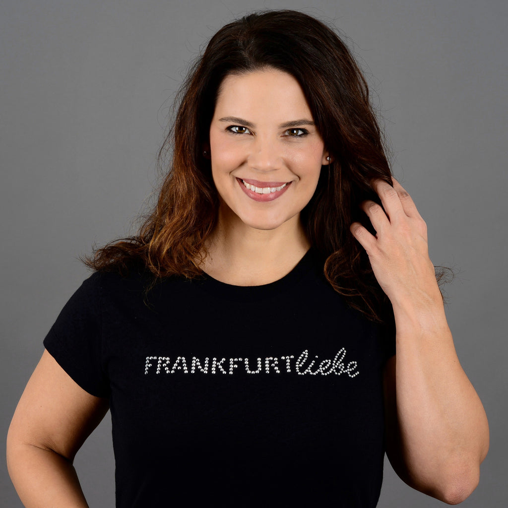 Frankfurtliebe T-Shirt Woman NIGHTLIFE black - Limited Edition