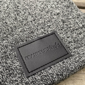 Frankfurtliebe Beanie Patch Antique Grey