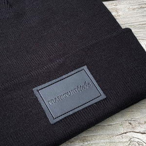 Frankfurtliebe Beanie Patch Black