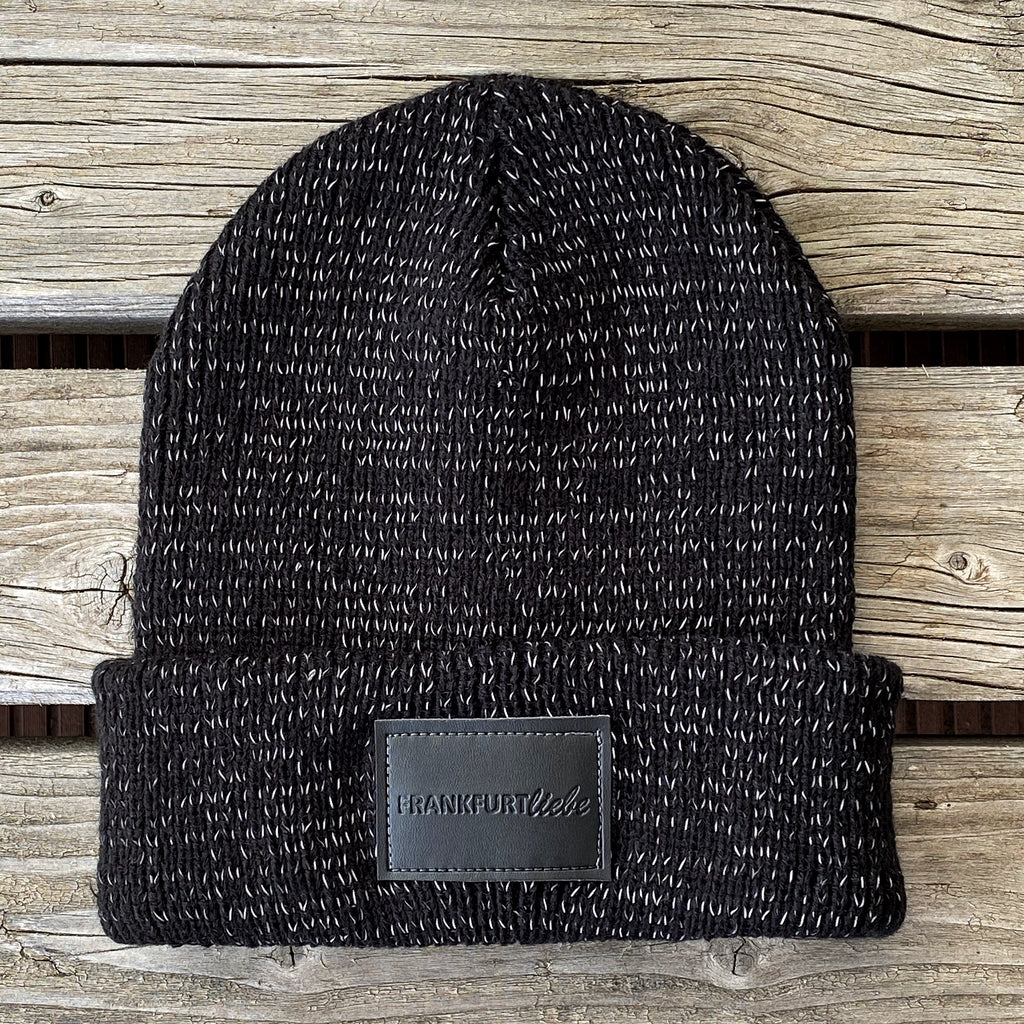 Frankfurtliebe Beanie Reflection Black