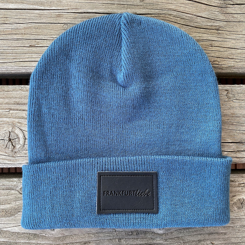 Frankfurtliebe Beanie Pure Air Force Blue