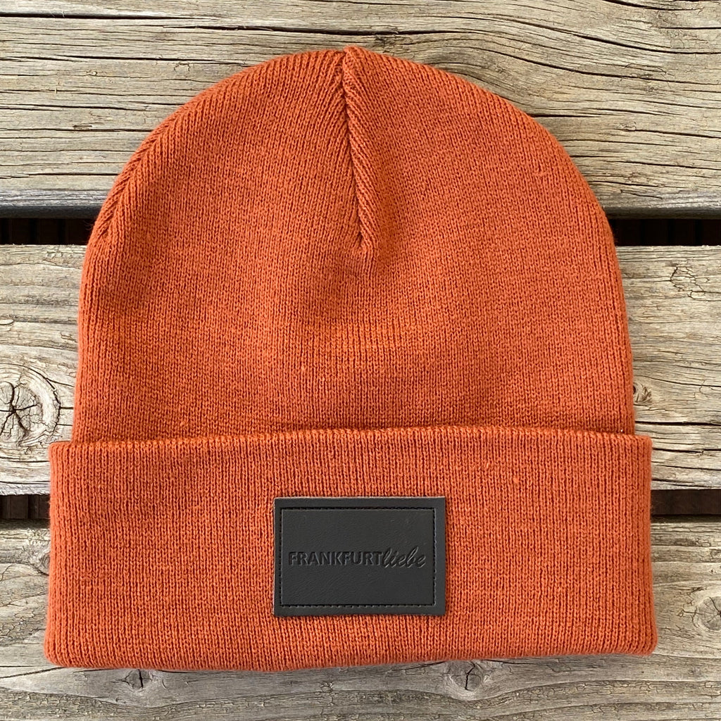Frankfurtliebe Beanie Pure Orange Rust