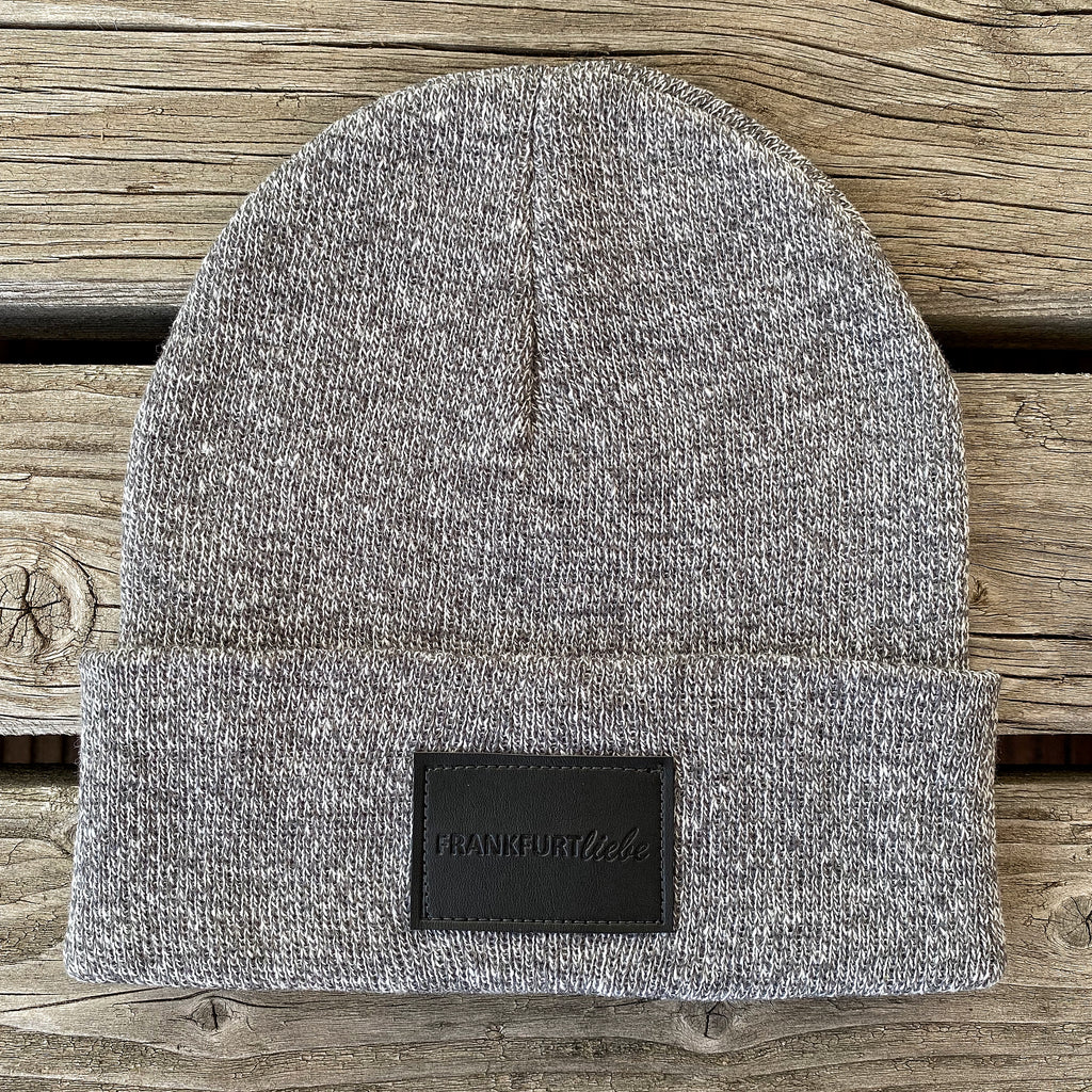 Frankfurtliebe Beanie Pure Heather Grey