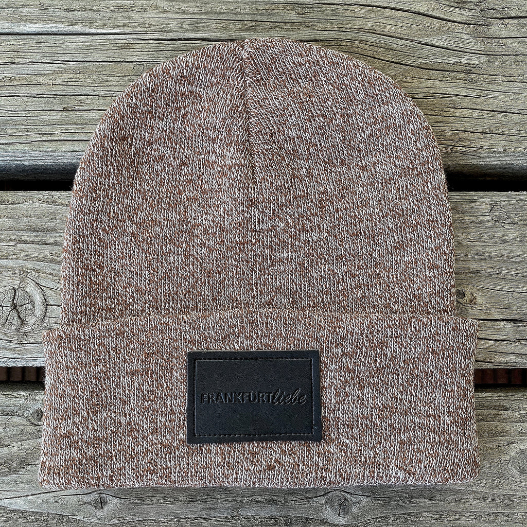 Frankfurtliebe Beanie Pure Heather Brown