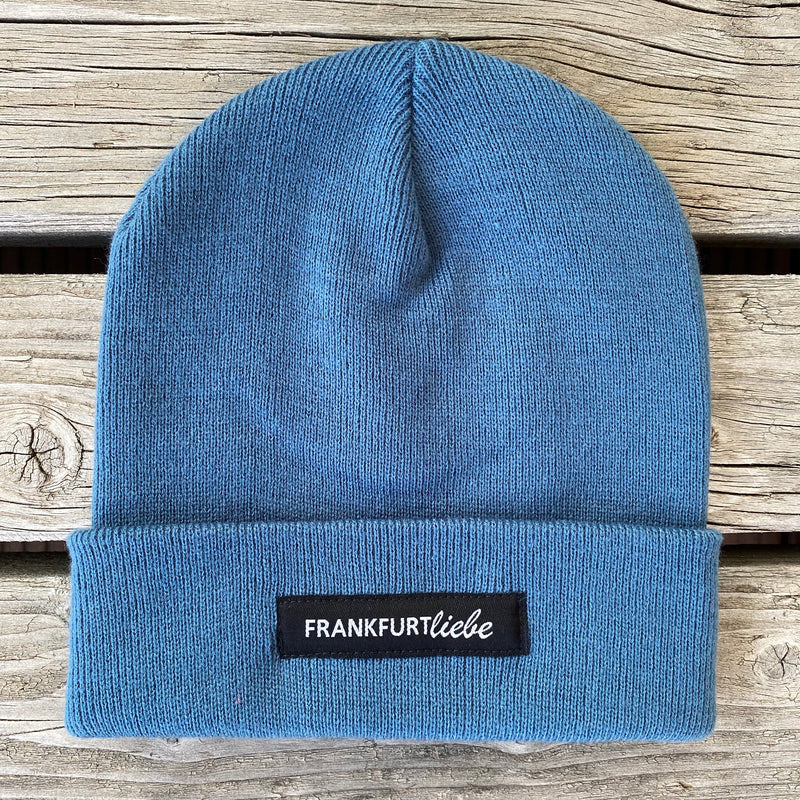 Frankfurtliebe Beanie Casual Airforce Blue