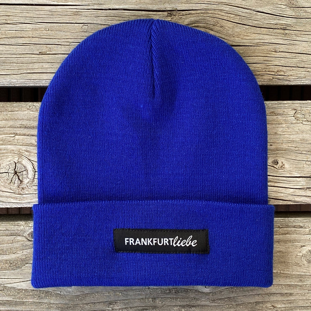 Frankfurtliebe Beanie Casual Royal Blue