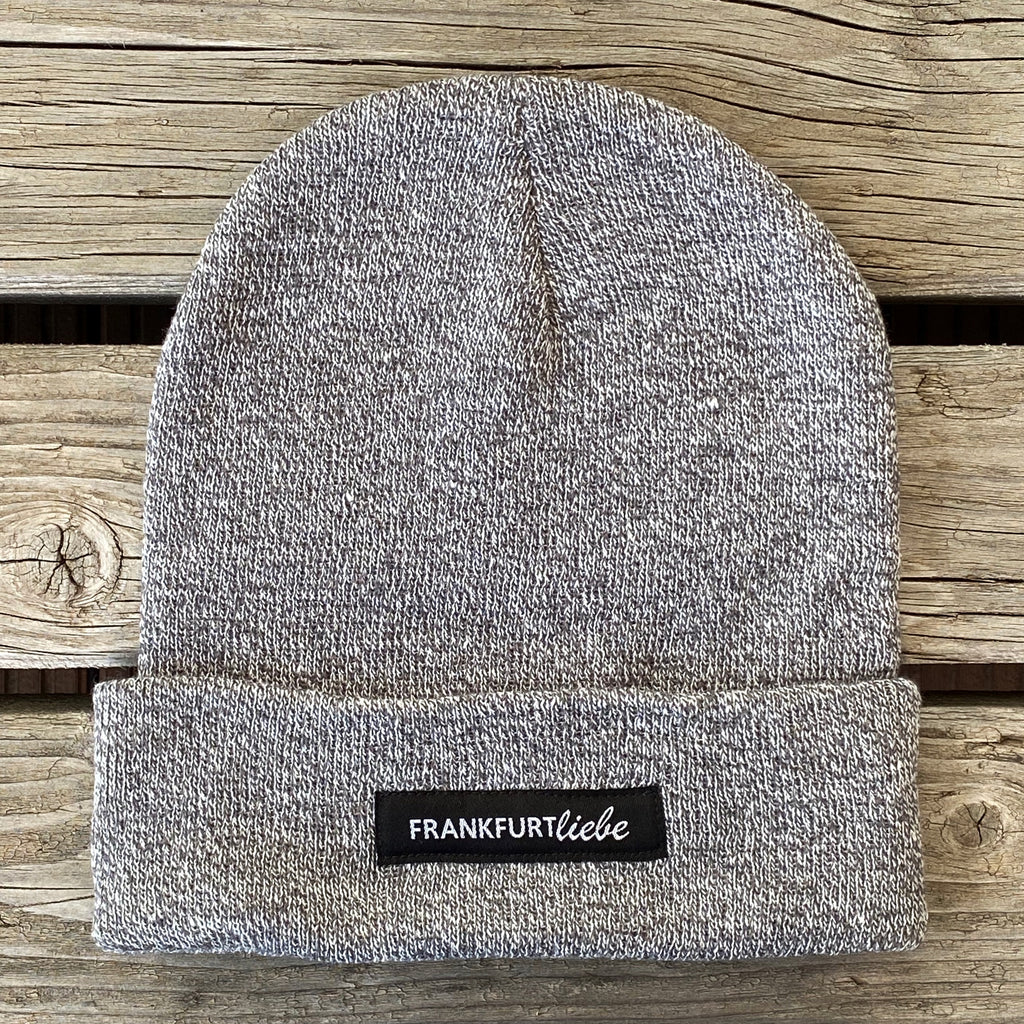 Frankfurtliebe Beanie Casual Heather Grey