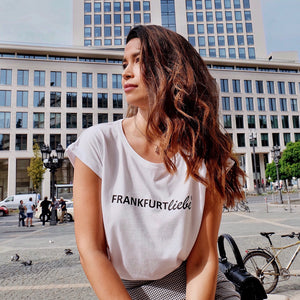 Frankfurtliebe T-Shirt Woman New Basic white