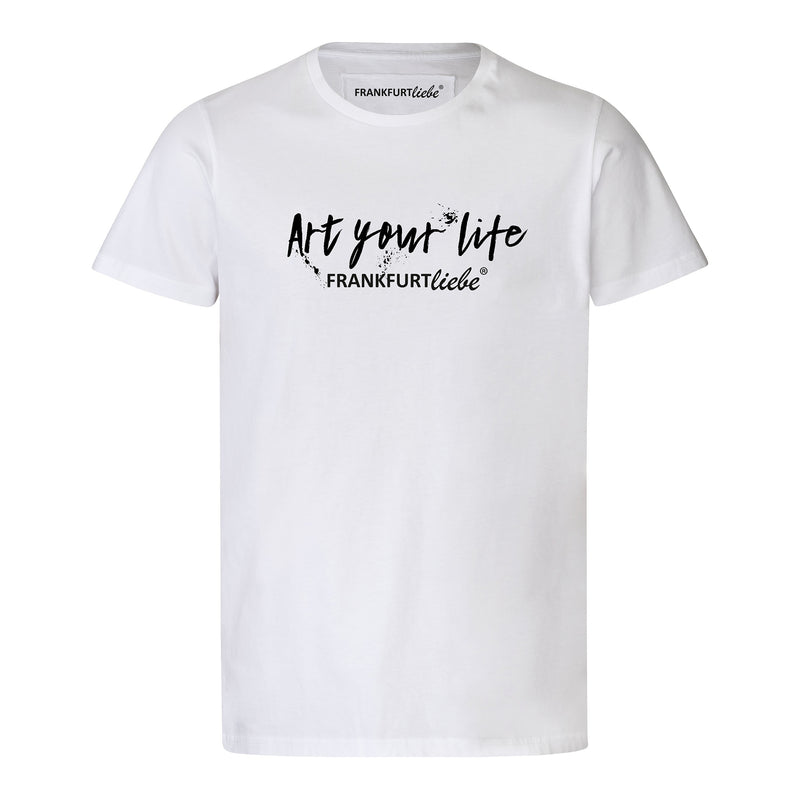 Frankfurtliebe T-Shirt Unisex ART YOUR LIFE white