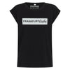 Frankfurtliebe T-Shirt Woman black luxury silver