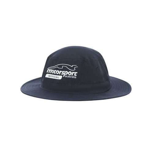 Motorsport Australia Official Adjustable Wide Brim Hat
