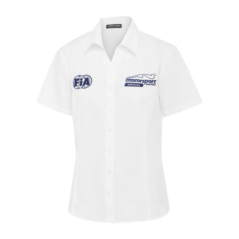 Womens Official Short Sleeve Business Shirt