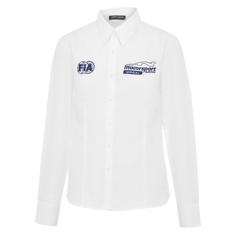 Womens Official Long Sleeve Business Shirt