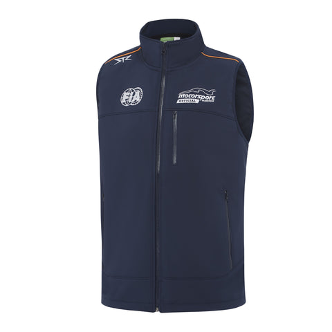 Mens Official Soft Shell Vest