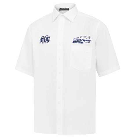 Mens Official Short Sleeve Business Shirt